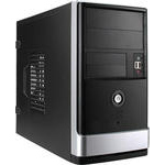 Корпус InWin emr002 450вт black-silver USB ad