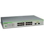 Allied Telesis AT-GS950/16  Web-managed, 14x10/100/1000 + 2xCombo10/100/1000/SFP, Rackmount