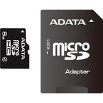A-Data microSDHC 8 Gb Class 4 + SD Adapter (AUSDH8GCL4-RA1)