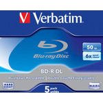 BD-R 50gb Verbatim 6x (1шт.) Jewel Case (43748)
