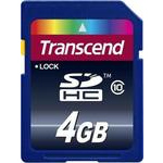 Transcend SDHC 4 Gb Class 10 (TS4GSDHC10)