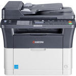 МФУ Kyocera FS-1025MFP (А4, 25 ppm, 1200dpi, 25-400%, 64Mb, USB, Network, цв. сканер, автоподатчик)