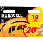 Duracell AA NM1500/LR6-12BL Basic (12шт)