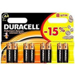 Duracell AA NM1500/LR6-8BL Basic (8шт)