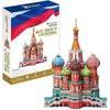 3D пазл CubicFun Россия. Собор Василия Блаженного (MC093h)