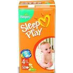 P&G Sleep&Play maxi экон.(7-18кг) 50шт