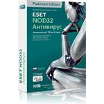 Eset NOD32 platinum edition - лицензия на 2 года на 1пк NOD32-ENA-NS(BOX)-2-1