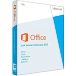 Microsoft Office 2013 home and business, 32/64 bit, russian DVD (T5D-01763)