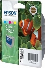 Epson T027 (Original) Stylus Photo 810/830/925 color