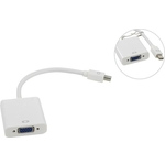Адаптер VCOM VHD6070 Mini DisplayPort (M) -> VGA (15F) (0.2 м)