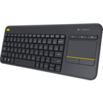Logitech K400 Plus Wireless Touch Keyboard USB 79КЛ+4КЛ М/Мед+TouchPad 920-007147