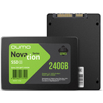 240gb QUMO Q3DT-240GPPN QM Novation TLC 3D OEM {SATA3.0, 7mm}