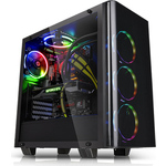 Thermaltake  View 21 Tempered Glass Edition  Без БП (CA-1I3-00M1WN-00)