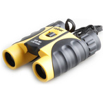 Бинокль Veber 10x25 WP Black-Yellow