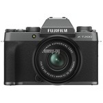 Fujifilm X-T200 Kit 15-45mm Dark Silver Фотоаппараты