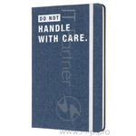 Блокнот Moleskine Limited Edition Denim Notebooks Lcdnqp060d Large 130х210мм 240стр. линейка Don`t H