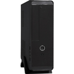 Exegate Ex268702rus Корпус MiniITX Exegate MI-209 Black, miniITX/mATX, без БП, 2*USB, Audio